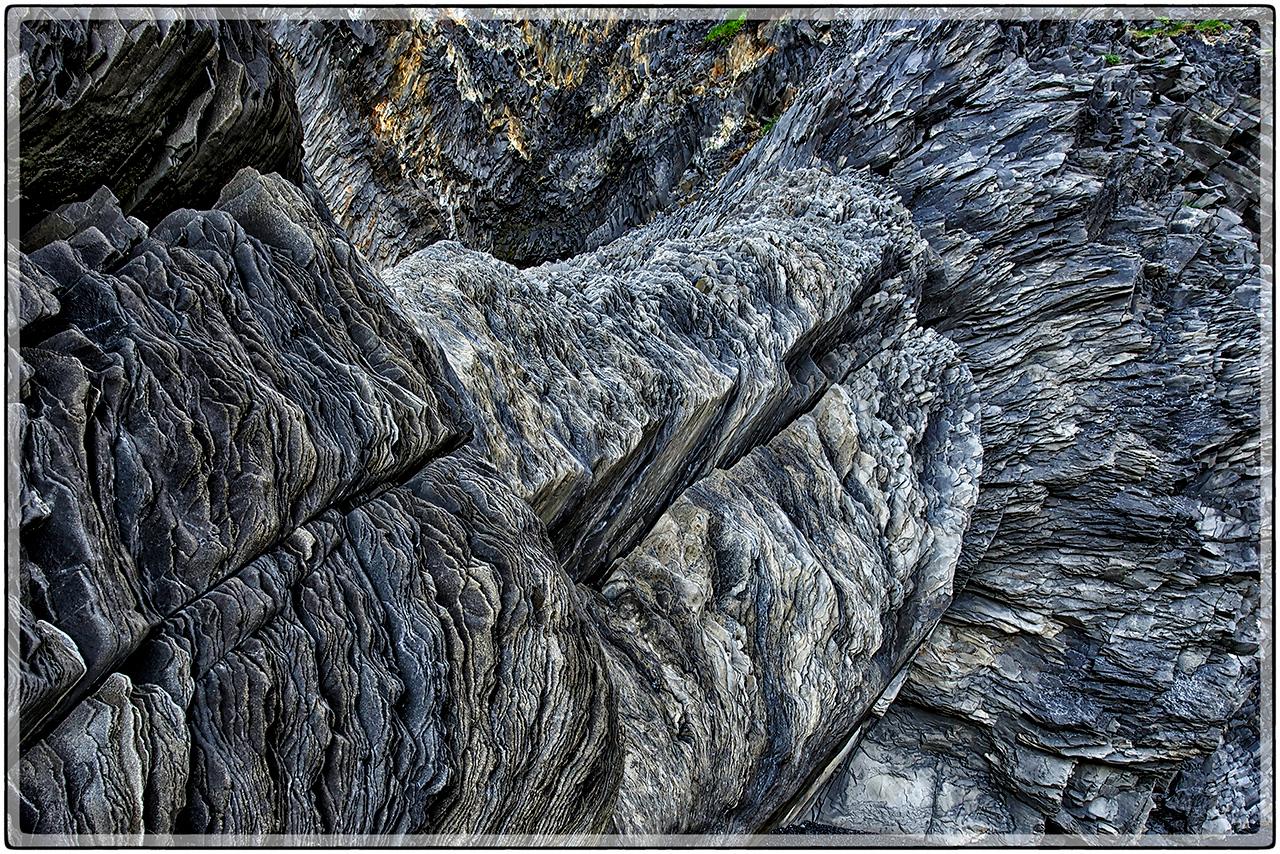 Column Of Shale Rock