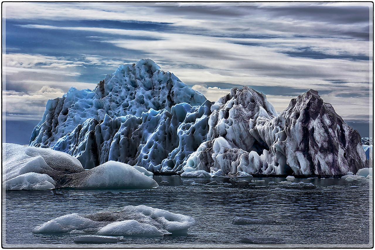 A Sky Of Icebergs