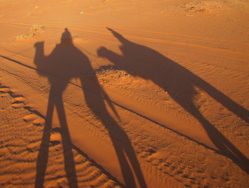 A Double Shot of Camel Shadows