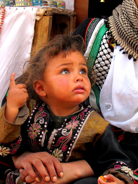 Bedouin Girl and her Mother