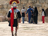 A Soldier Marches on in Jerash