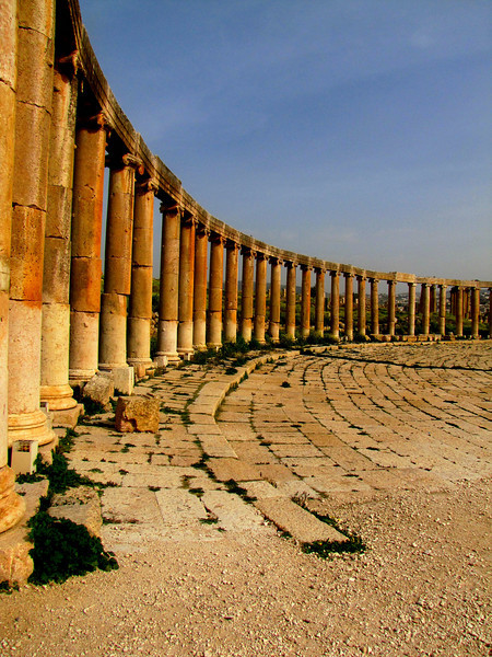 The Lovely Ruins in Jerash