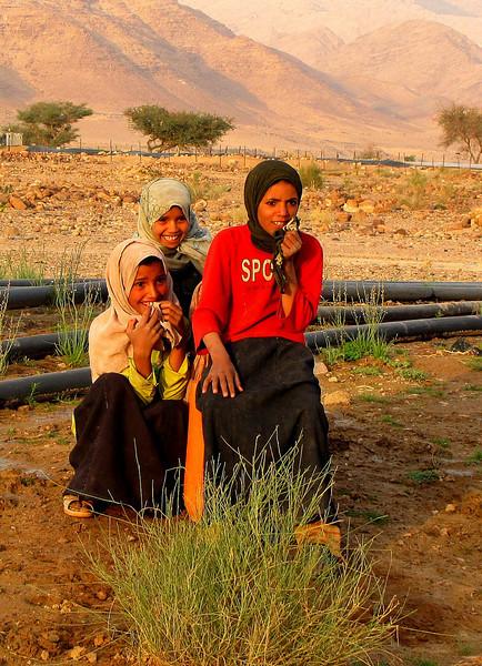 The Curiosity of Bedouin Girls