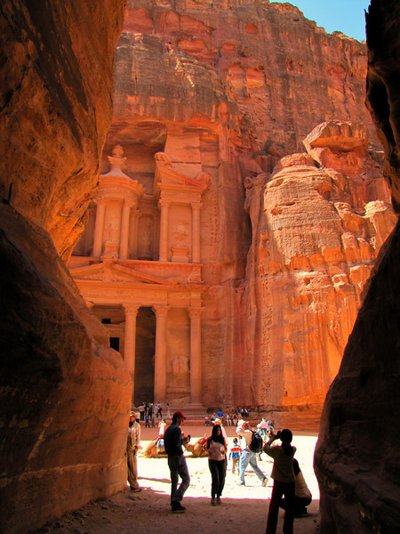 First Glimpse in to Petra