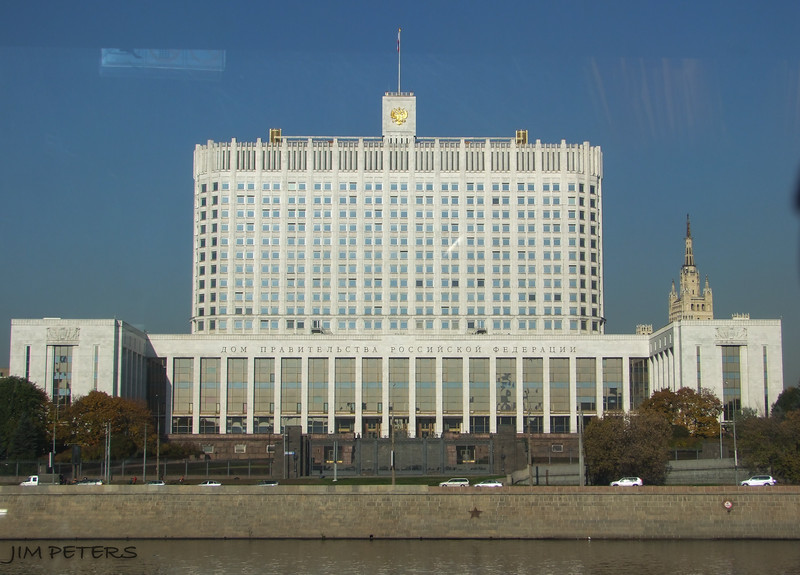 The White House - Seat of Russian Government