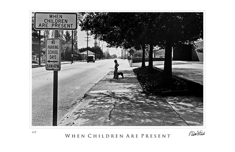 when children are present