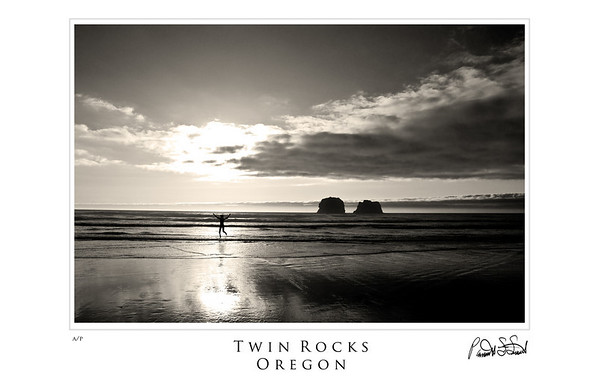 twin rocks B&W1