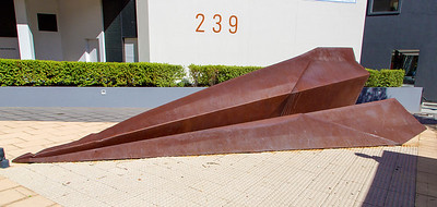 "Part of the ""Paper Planes"" Sculpture at 237 Adelaide Terrace."
