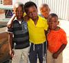 School Boys in Kayelitsha township in Capetown