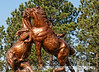 Sculpture by Korczak Ziolkowski, the sculptor of the Crazy Horse Memorial in SD