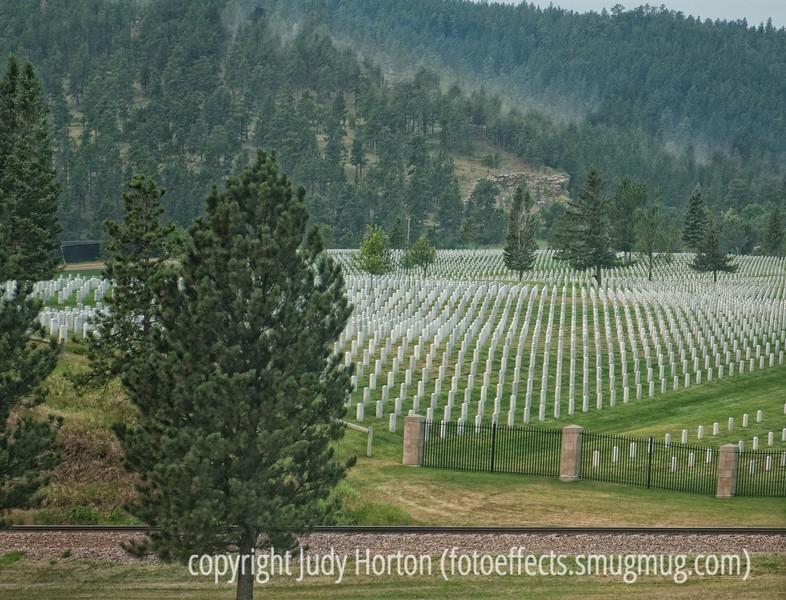 Veterans cemetery near Spearfish, SD