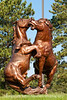 Korczak Ziolkowski sculpture on the grounds of the Crazy Horse Memorial in SD; best viewed in the largest sizes