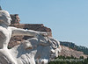 Crazy Horse Memorial and model in the Black Hills of SD; best viewed in the largest sizes
