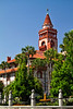 Hotel Ponce de Leon opened in 1888, closed 1967 and is now home to Flagler College, St. Augustine, Florida