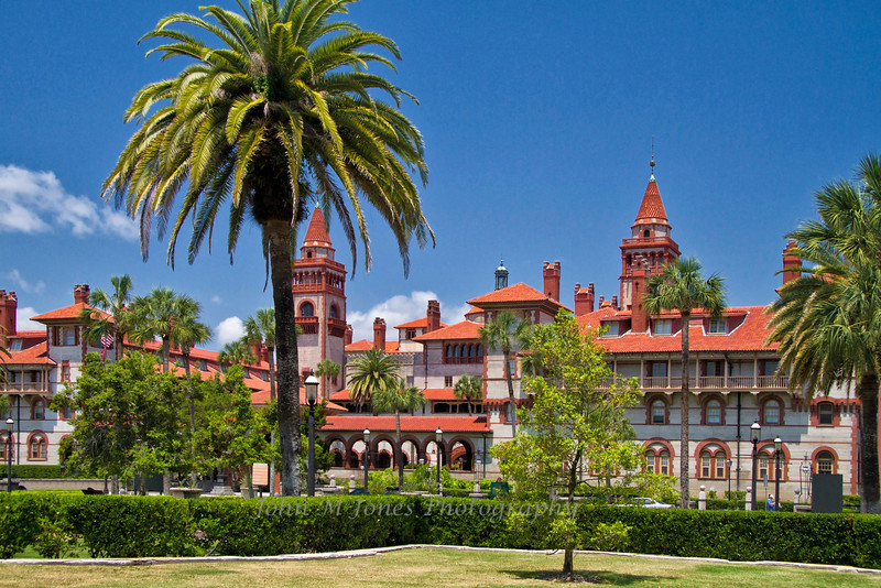 Henry Flagler's Luxury Hotel Ponce de Leon, now home of Flagler College, St. Augustine, Florida