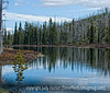 Lewis Lake in Yellowstone, near the South Entrance to the park; best viewed in the larger sizes