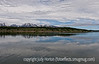 Reflections in Jackson Lake with the Grand Tetons as the backdrop