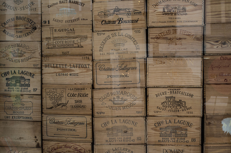 French wine boxes