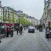 Rue Saint-Antoine in the Marais