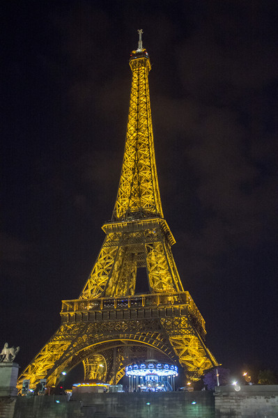 Tour Eiffel from the boat