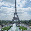 Tour Eiffel viewed from the Trocadero