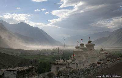 L 00_001 Zandstorm in Shyok vallei