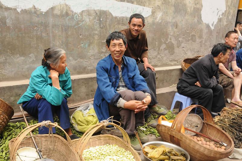 2011, Trip, China,Yangtze River Cruise,Fengdu Market (18)