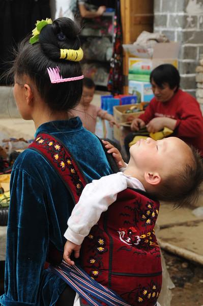 2011, Trip, China,Guiyang,Kaili,Sunday Market,  (52)