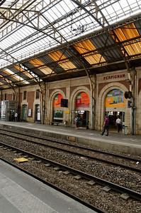 Perpignan station: the center of the world according to Salavador Dali