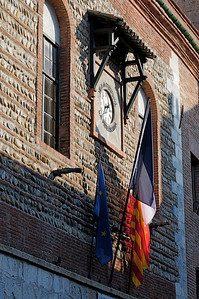 Perpignan, the old town,