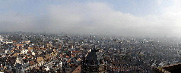 panoramic view from the platform of the cathedral