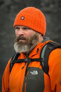Skarpy, our fearless Viking guide!  He will be seen again in the pictures from Dettifoss