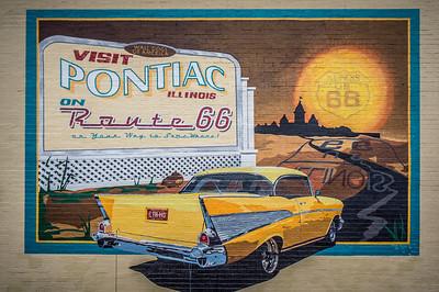 Historic Route 66, Pontiac Illinois
