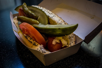 Historic Route 66 Chicago dog