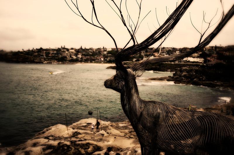 Sydney, Bondi Beach sculptures by the sea