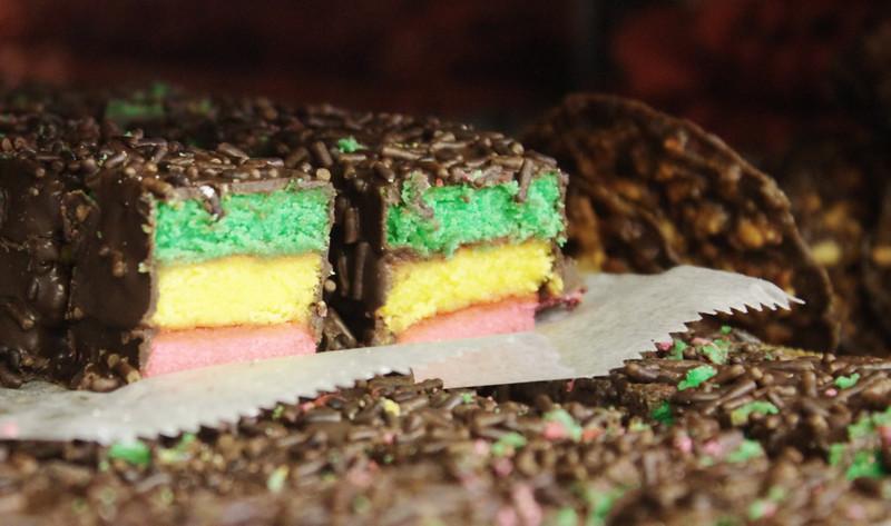 Italian layer cake pastries
