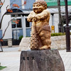 "We didnt know why there were statues of these trolls everywhere. Now we know that the name ""Kinugawa"" means angry demon hence the trolls as their ""mascot""? The place is named after the Kinugawa River (lit. ""angry demon river""), which flows through it."