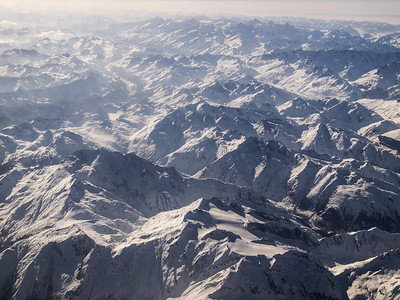 The Alps in March 2013. Photo: Martin Bager.