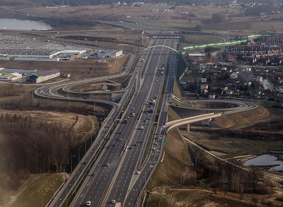 Highway in Gdansk, Poland. Photo: Martin Bager.