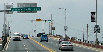 <h2>The Loneliest Number</h2>This is what I saw as I sped out of the OC on my way to Assateague Island, MD. Maybe I'll do the trip sometime. Photo Credit: Edward Loeb of Ocean City, MD - http://www.route50.com