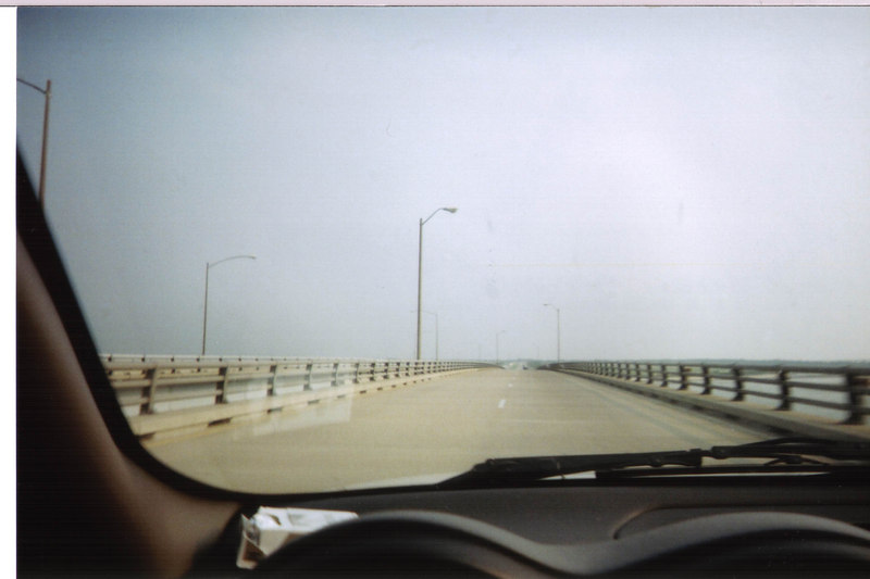 <h2>...Miles of Causeway</h2>The causeway seemed to go on forever until you go down into one of the tunnels.  There are no Pictures of the tunnels becasue all traffic was merged into one lane each way, and I did not want to crash in the tunnel under the water.