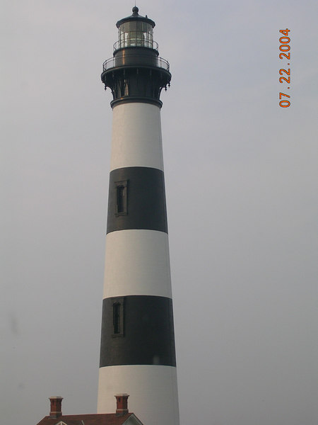 <h2>Let There Be Lighthouse</h2>This is the Bodie Lighthouse (#3) located inside or near the Cape Hatteras National Seashore.