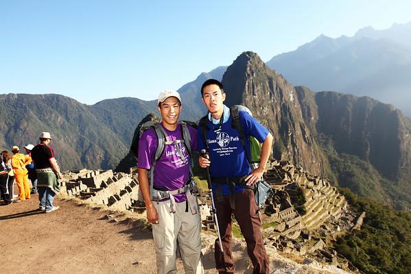 My bro and I at Machu Picchu.