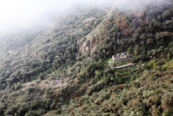 View of Qonchamarca from Sayaqmarka