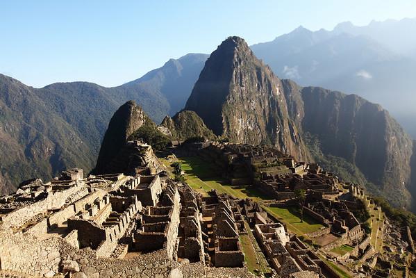 The classic Machu Picchu picture