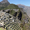 Backside of the Terrace/Quarry.  Machu Picchu was never finished.