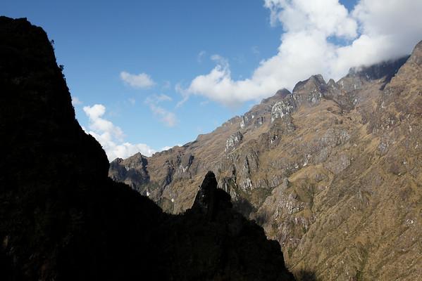 View from Runkuraqay