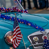 Car in fourth of July parade