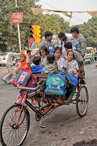 Kids on the way home from school