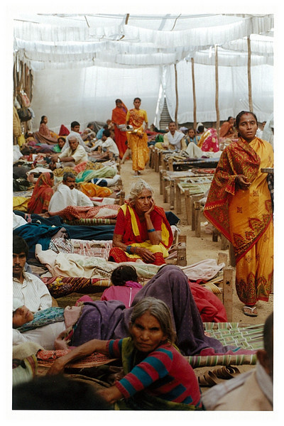 Female waiting tent.